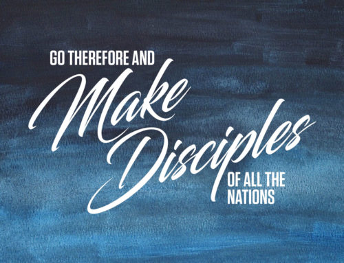 The Mandate to Make Disciples